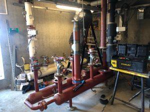 technische ruimte in renovatie